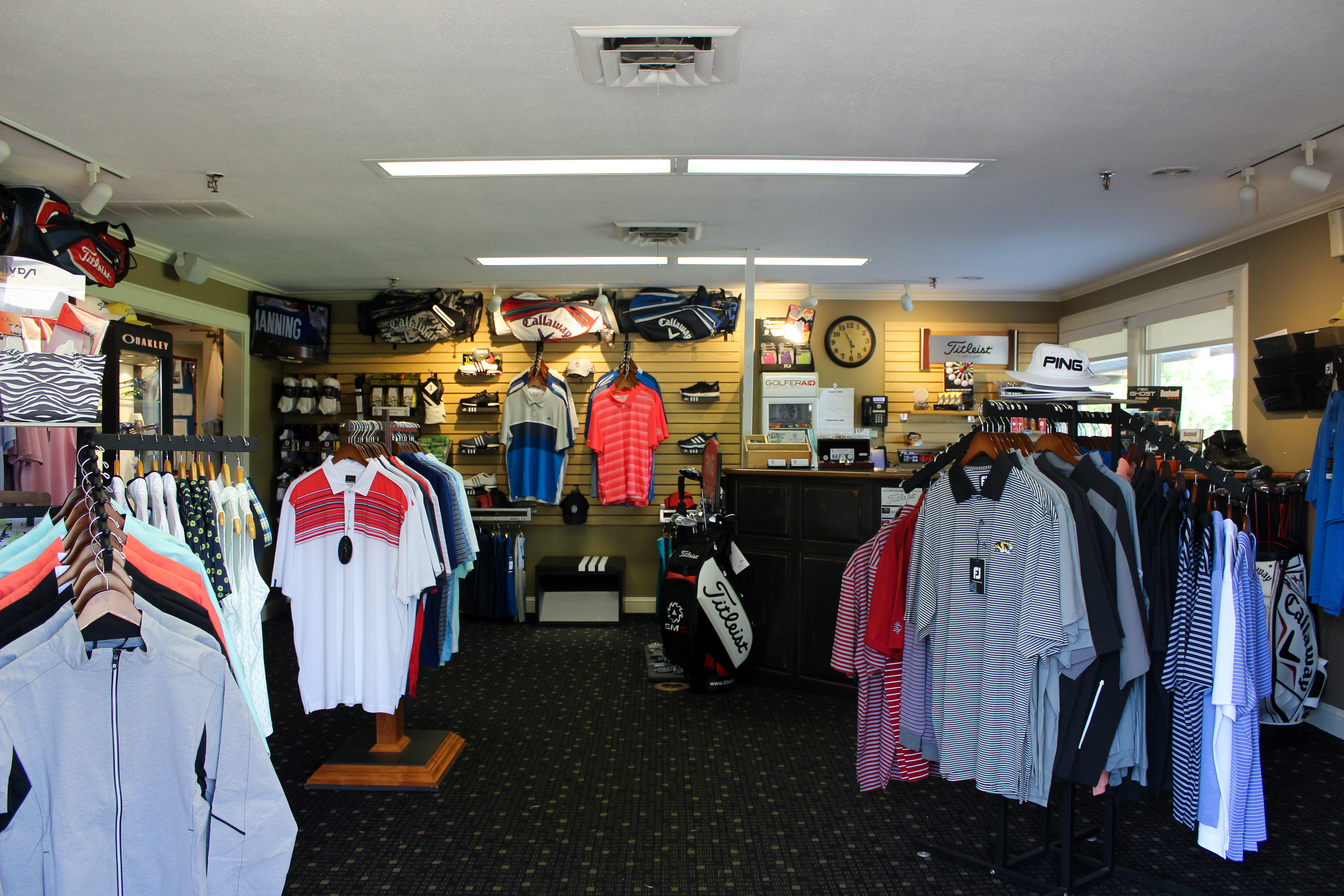SCC Golf Pro Shop