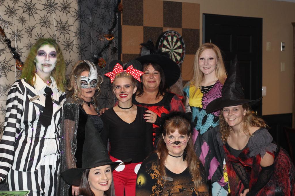 SCC Halloween Staff