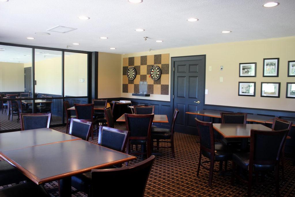 SCC card room