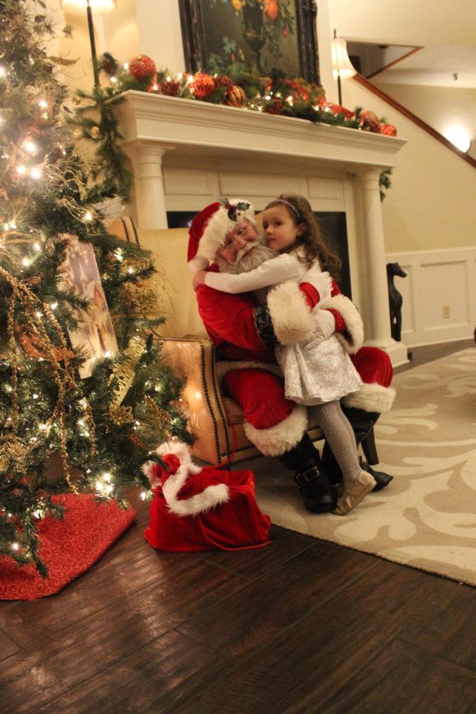 Santa and SCC girl