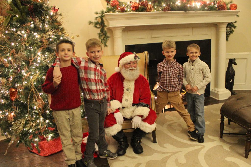 Santa with SCC Kids