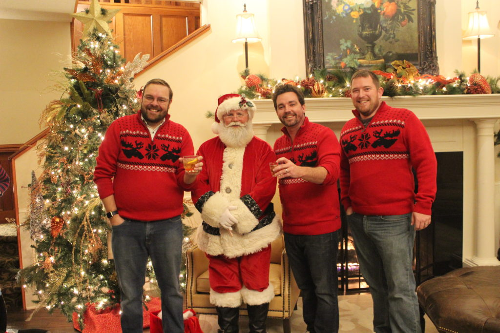 Santa with SCC Adults
