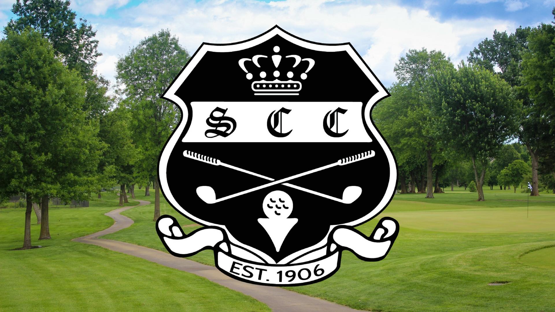 SCC Logo over Course
