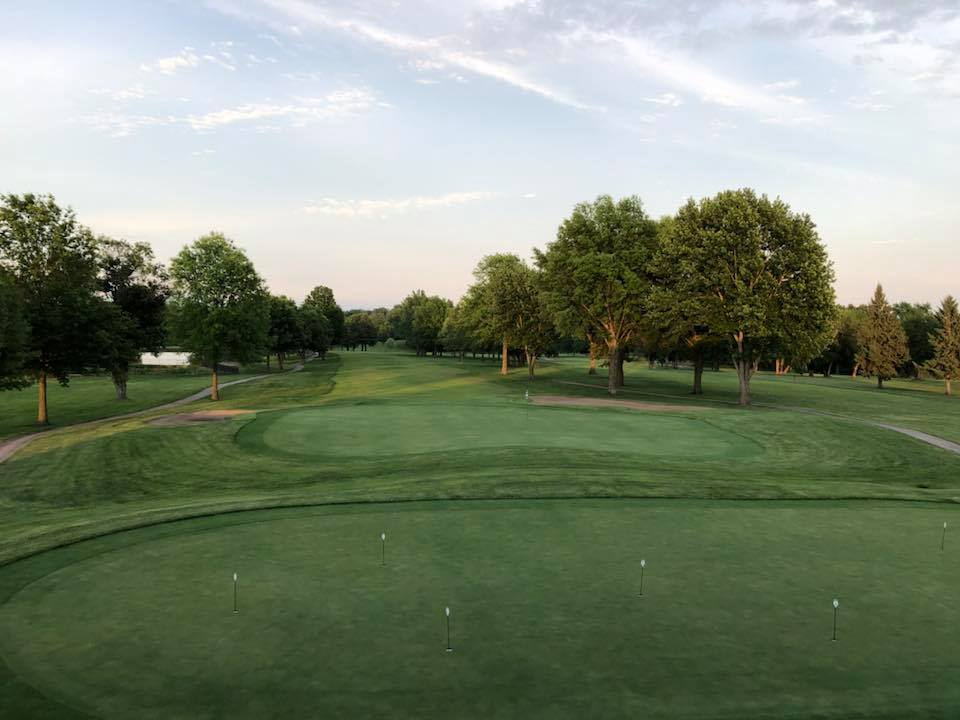 Photo from Upper Bar deck of Hole 9