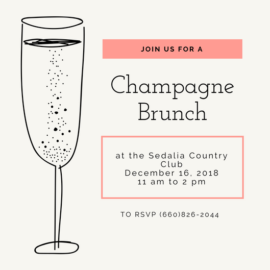 Champagne Brunch Invite