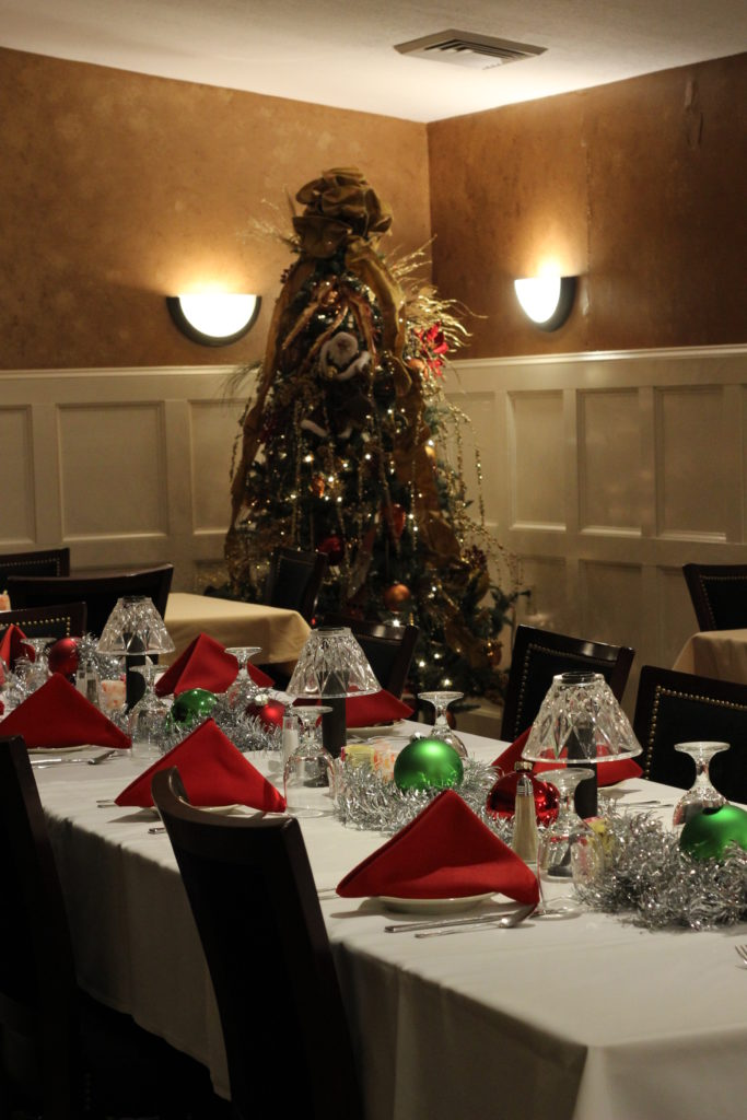 Christmas Party in the Private Dining Room